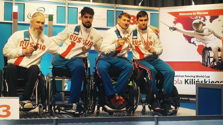 Фехтовальщик из Новосибирска взял два призовых места на Кубке мира