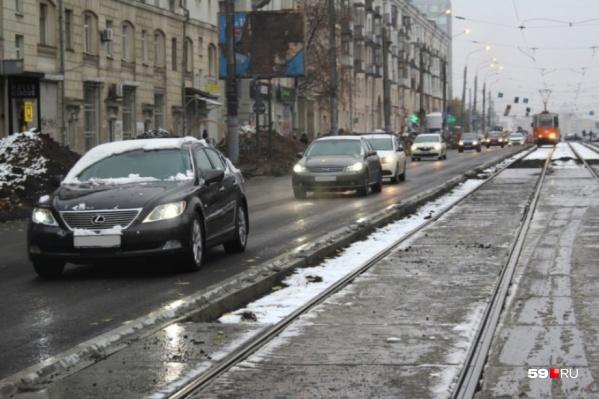 В марте подрядчик приступит к устройству канализации на улице Крупской, и в связи с этим ограничат движение по Уральской