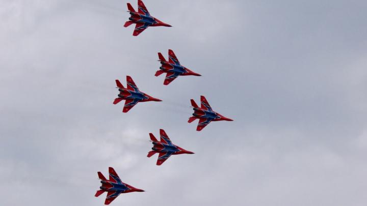 Подмосковные «Стрижи» покажут высший пилотаж на челябинском аэродроме