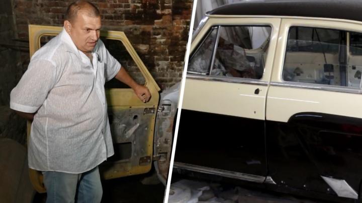 «Победа», золотое старье и «металлолом» в гараже: как живут ростовские реставраторы авто