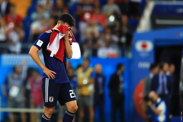 Японцы упустили победу, ведя в матче с преимуществом в два мяча