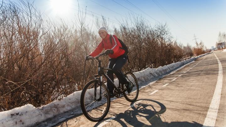 В Тюмени построят новые велодорожки. Показываем, где они появятся и сколько стоят (много)