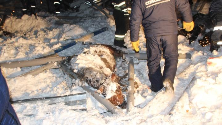 Руководителя конного клуба будут судить за гибель двух человек под обрушившейся крышей