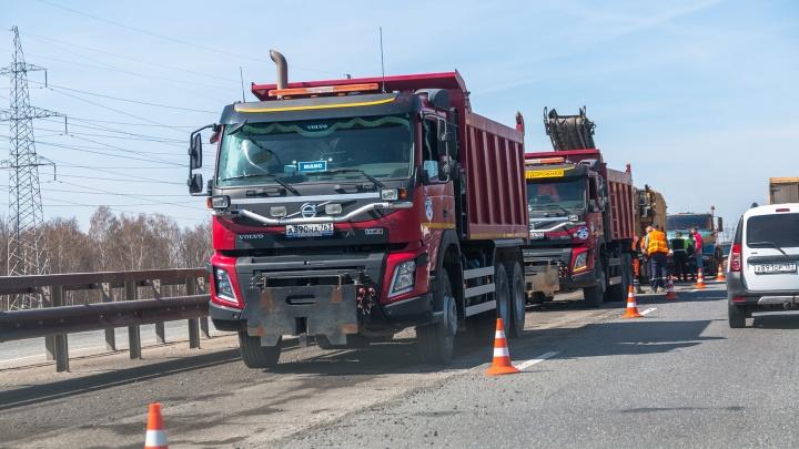 Летом под Самарой будут взвешивать грузовики