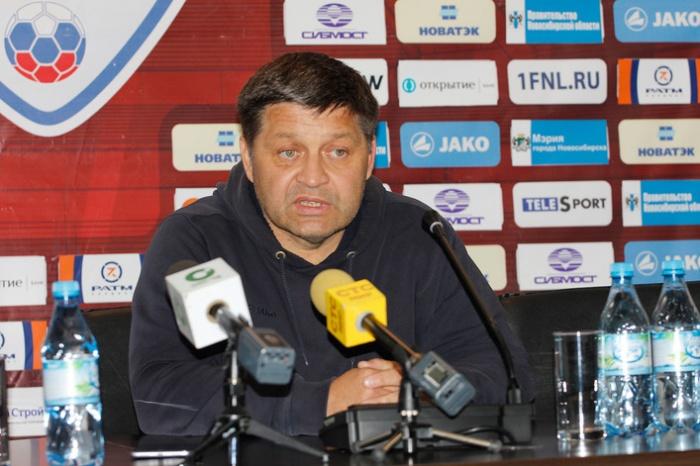 Сергей Кирсанов стал главным тренером ФК «Сибирь»