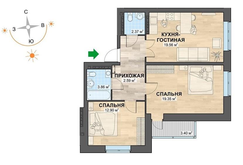 Феномен Пионерского микрорайона: почему купить здесь качественное жильё мечтает каждый второй