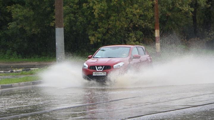 Экстренное предупреждение: солнечная погода в Нижнем Новгороде сменится грозой и градом
