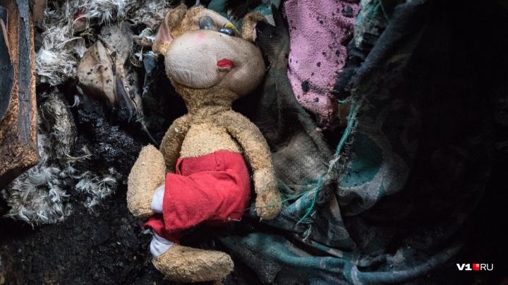 «Уснул на детской игрушке с сигаретой в руках»: волгоградца осудили за гибель друга при пожаре