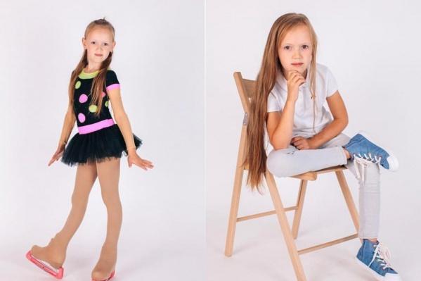 Маша занимается в школе фигурного катания и модельном агентстве, поэтому ее выбрали на кастинге