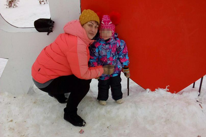 Наталья с дочкой Катей