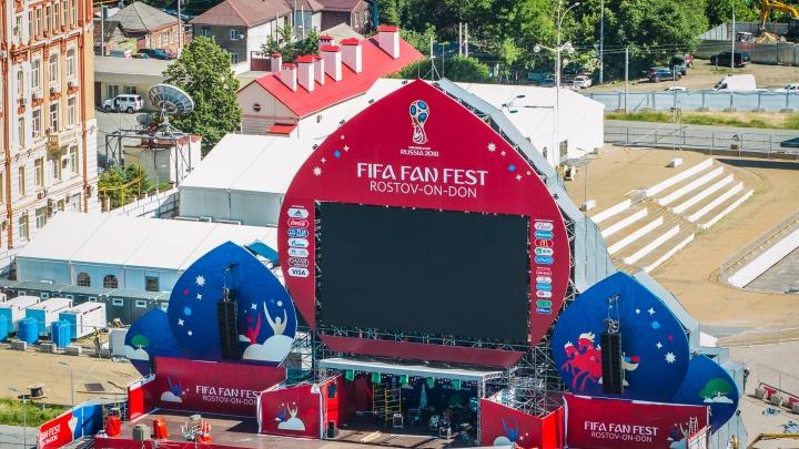 Киберфутбол, граффити-турнир, мексиканские шоу: какая программа ждет болельщиков сегодня в Ростове