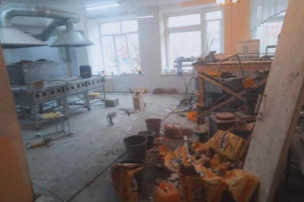 Так выглядит кухня сейчас
