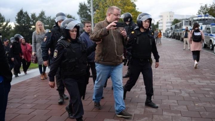 МВД России проверит законность задержания уральских журналистов на митинге