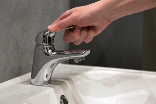 Без воды жильцы останутся на целый день