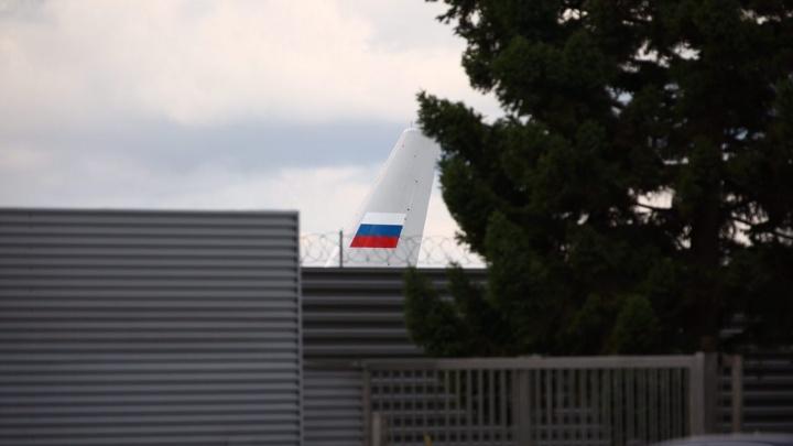 Президентский самолёт Ту-214 улетел из аэропорта Толмачёво