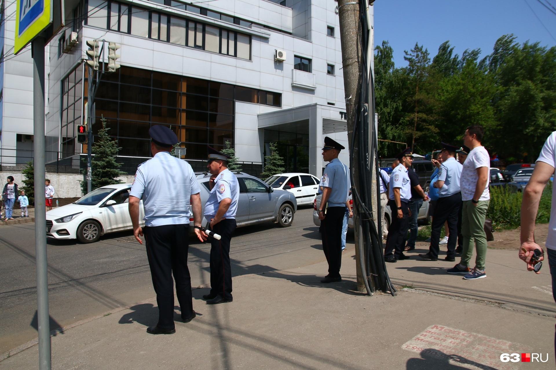 Полицейские разбираются в обстоятельствах трагедии