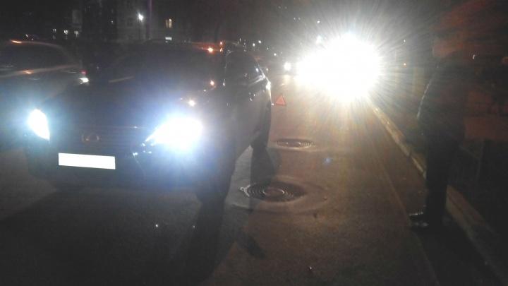 В Ярославле «Лексус» сбил пешехода