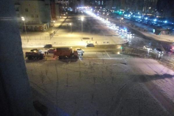 Потоп в «Парковом» из-за прорыва трубы случился в понедельник вечером