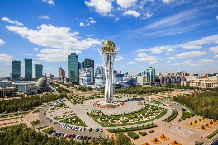 Столица Казахстана — безумно красивый город