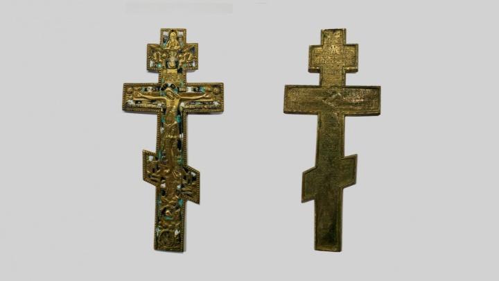 Кольцовские таможенники не пустили в США посылку, в которой был антикварный старообрядческий крест