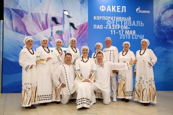 Победители фестиваля — ансамбль русской песни «Забава»