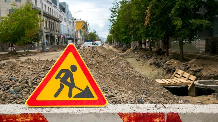 Ремонтные работы поставили Красноярск в семибалльные пробки
