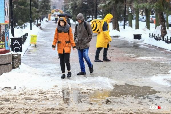 На этой неделе не обойдётся без озёр на ростовских улицах