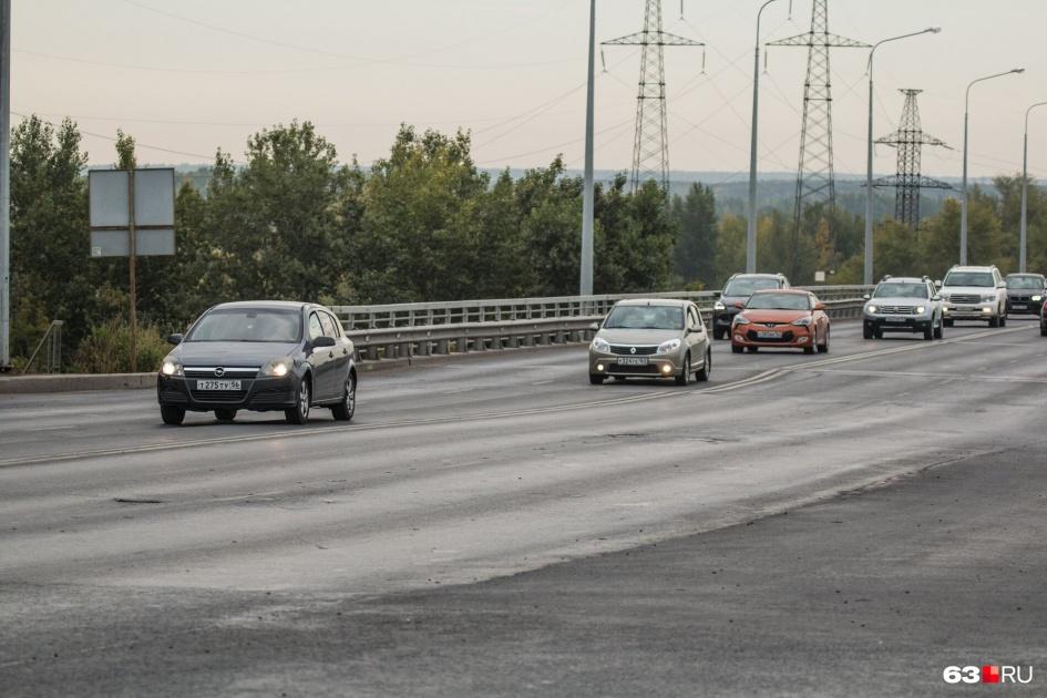 "Южный мост <a href=""https://63.ru/text/gorod/65385191/"" target=""_blank"" class=""_"">спустя год</a> после ремонта"