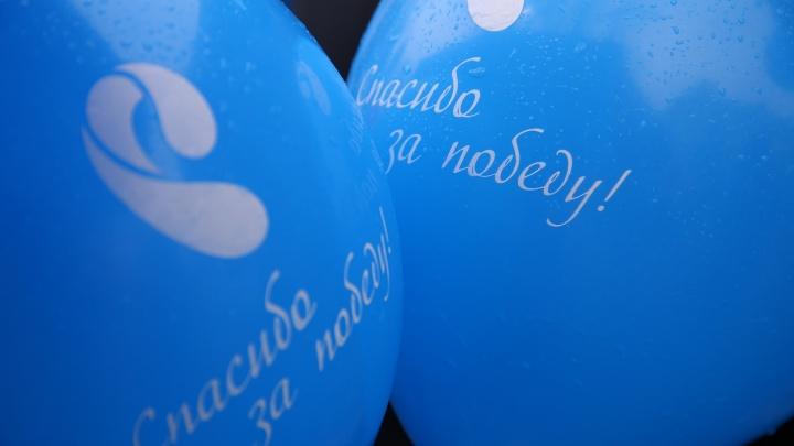 Участники акции «Ростелекома» в Красноярске сказали спасибо за Победу