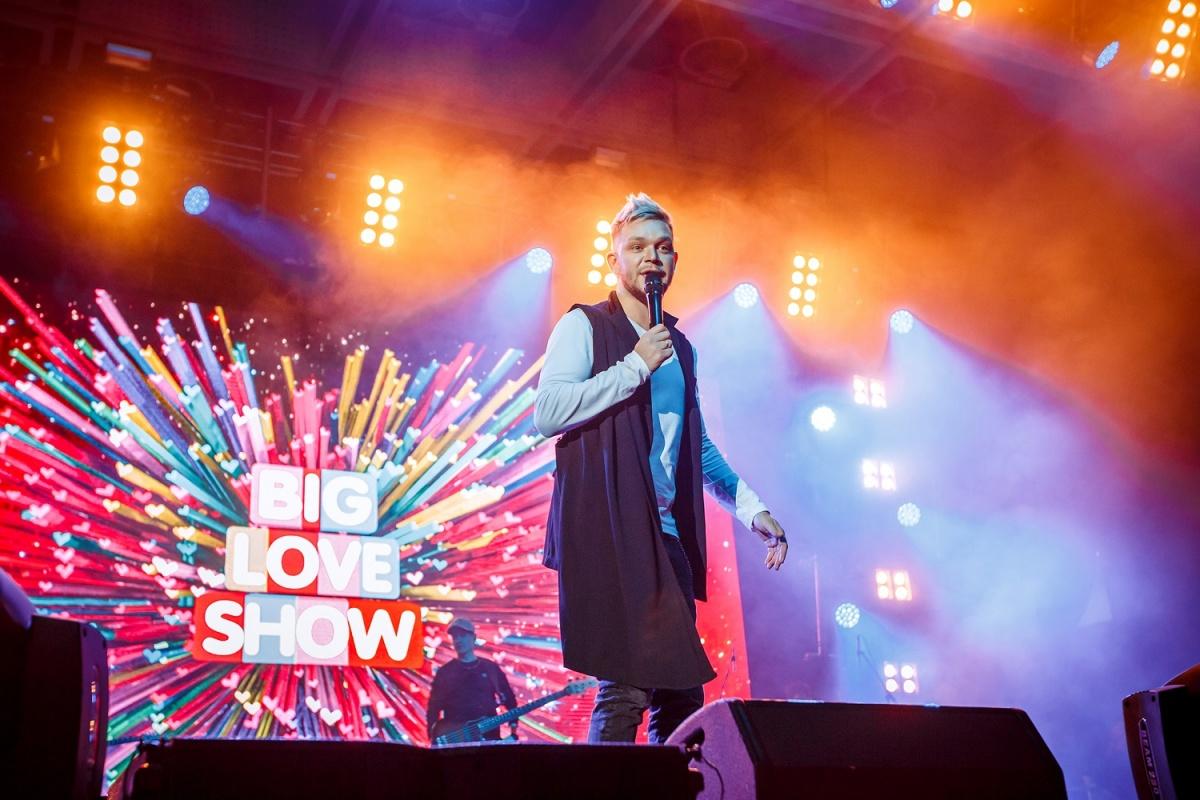 В Новосибирске впервые прошел фестиваль Big Love Show: концерт собрал 7000 зрителей