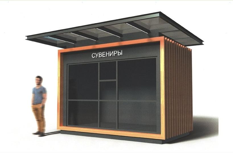 Так должны будут выглядеть новые торговые павильоны в Челябинске
