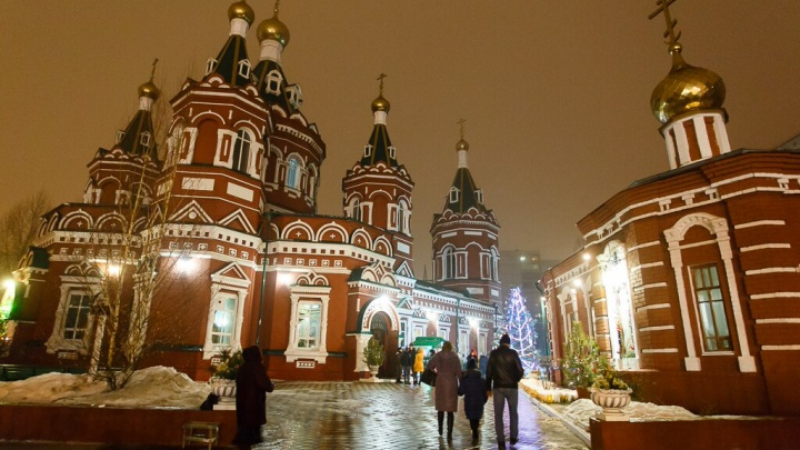 Волгоград встречает Рождество: в храмах началось всенощное бдение