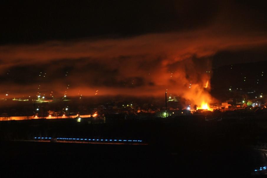 Пожар случился в посёлке Василовка Катав-Ивановского района