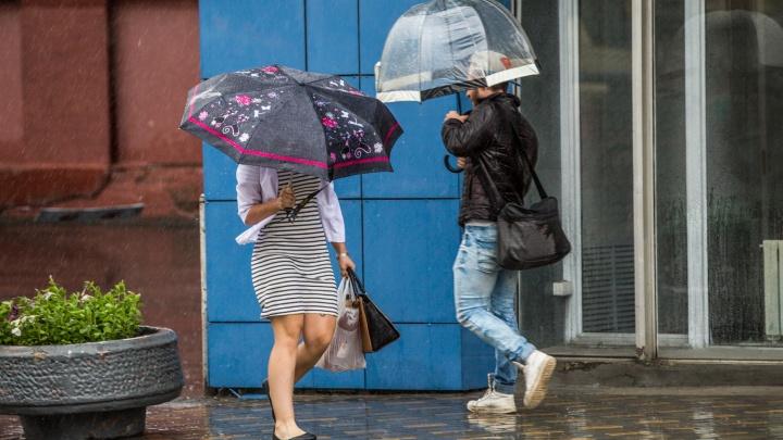 Отмучились: в Новосибирск идут прохлада и дожди