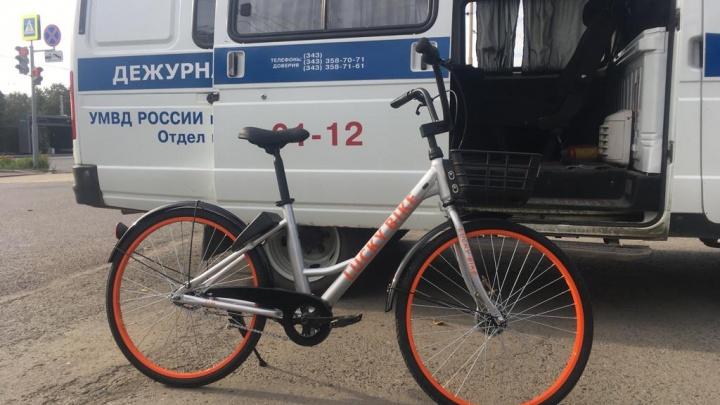 Два угона за одну ночь: первый в Екатеринбурге сервис велошеринга оказался приманкой для воров