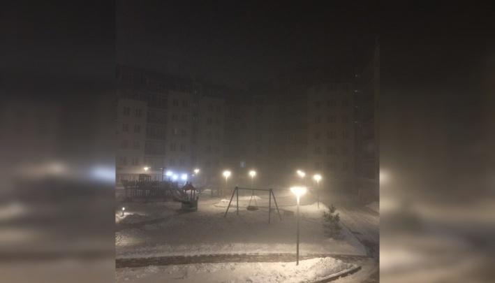 После трех дней чистого неба в Красноярск возвращается едкая дымка