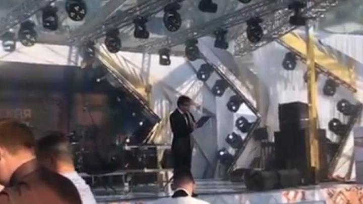 На праздновании 15-летия РМК выступил Иван Дорн