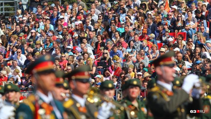 Следить за самарцами на 9 Мая будет около трех тысяч полицейских