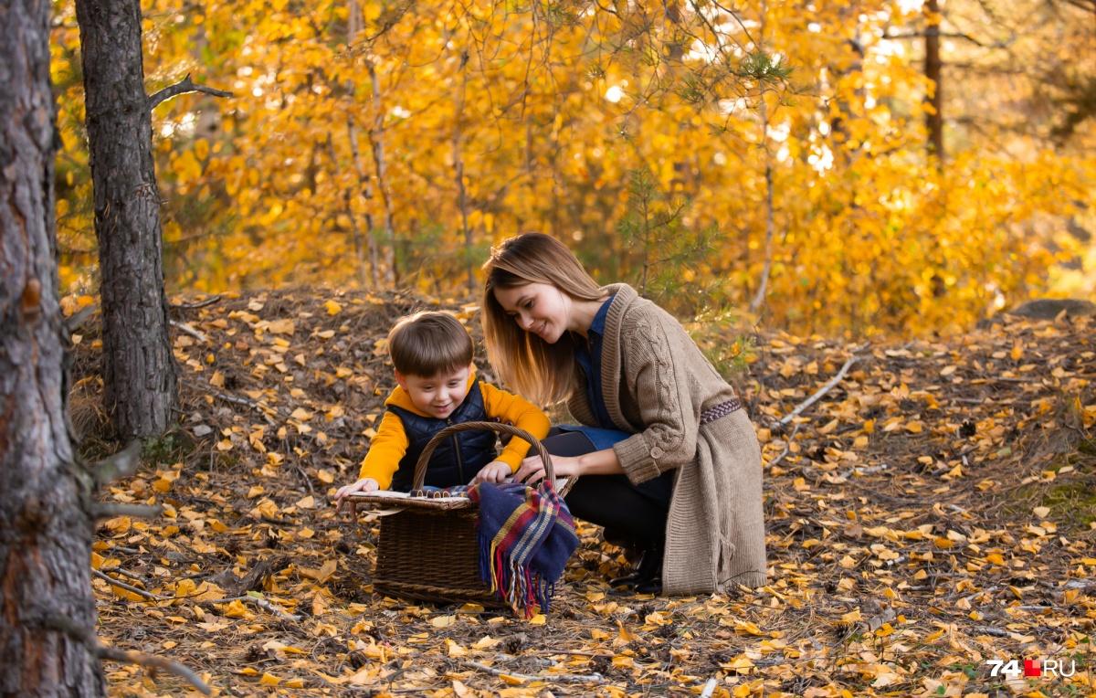 Главное правило осеннего снимка — больше цвета: добавьте золота и тепла композиции