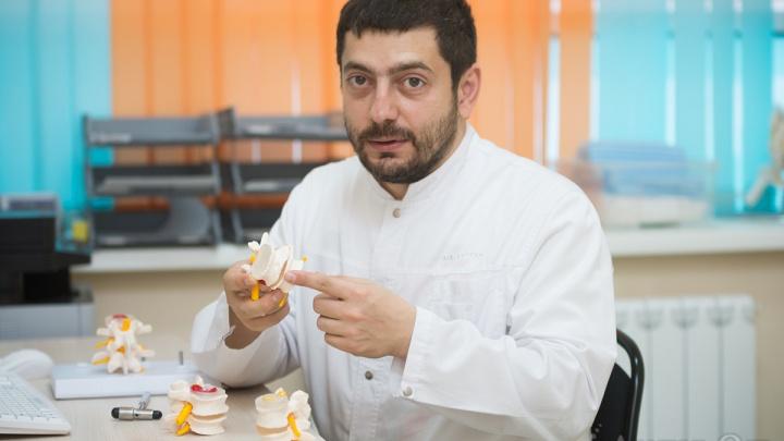 В Тюмени будут делать меньше операций на позвоночник и суставы