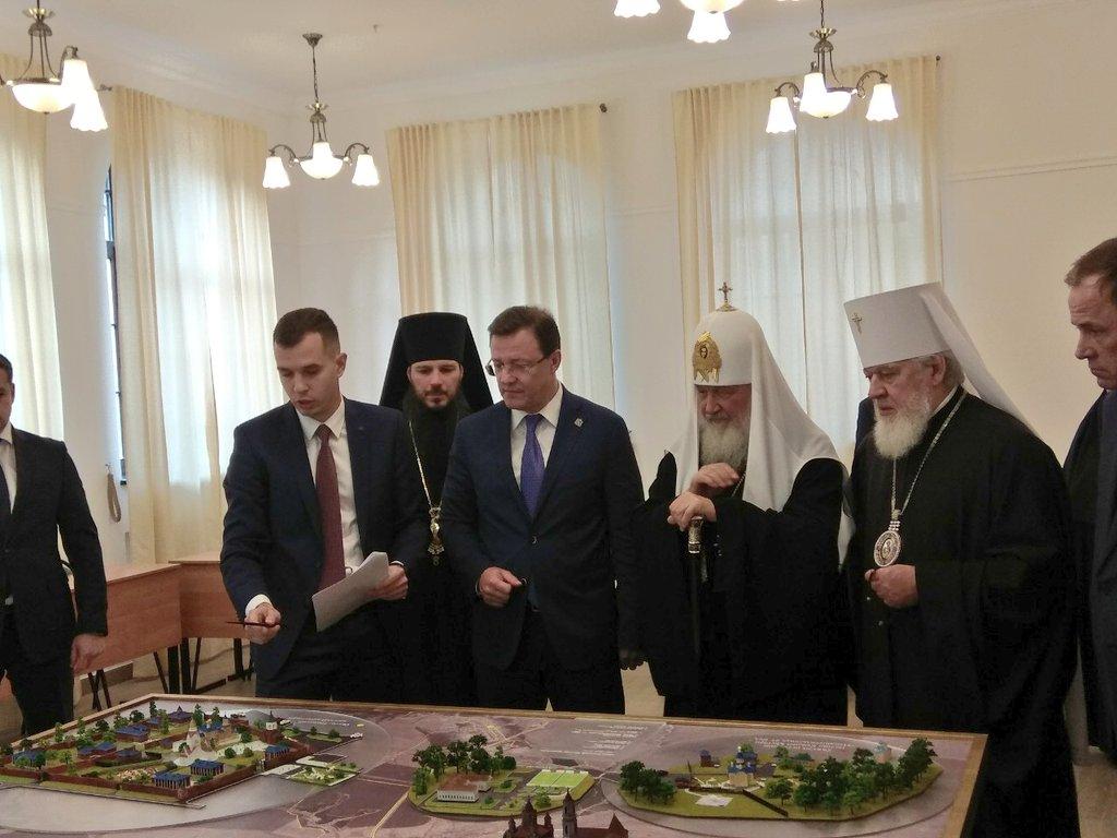 Предстоятелю показали проект создания паломнического центра на территории села Ташла