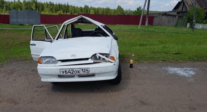 Непристегнутый мальчик погиб в исковерканной «Ладе» с молодым водителем за рулем