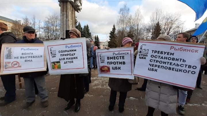 «Пострадают все, кто живёт на Волге»: Ярославская область бунтует против ЦБК на водохранилище: прямой эфир