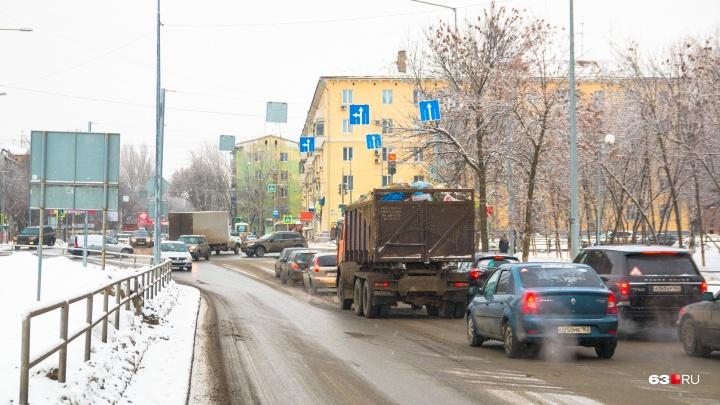 Самарский Минтранс определился с ценой строительства развязки на Ново-Садовой — Советской Армии