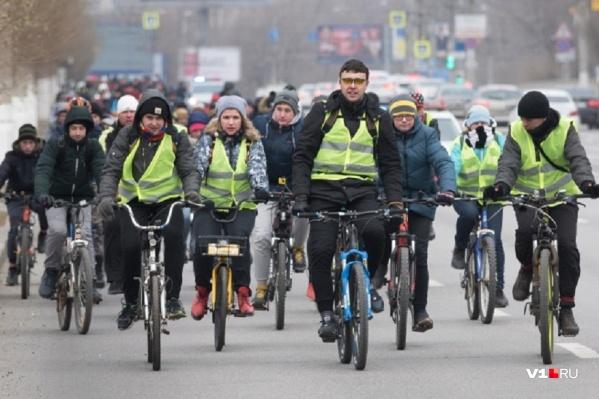 Велосипедисты соберутся в последний день новогодних праздников