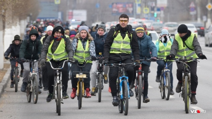 В Волгограде 12 января пройдёт велопарад