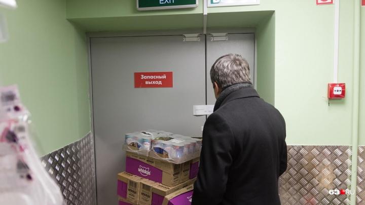 Входы завалены, огнетушителей нет: в историческом центре Самары проверили ТЦ