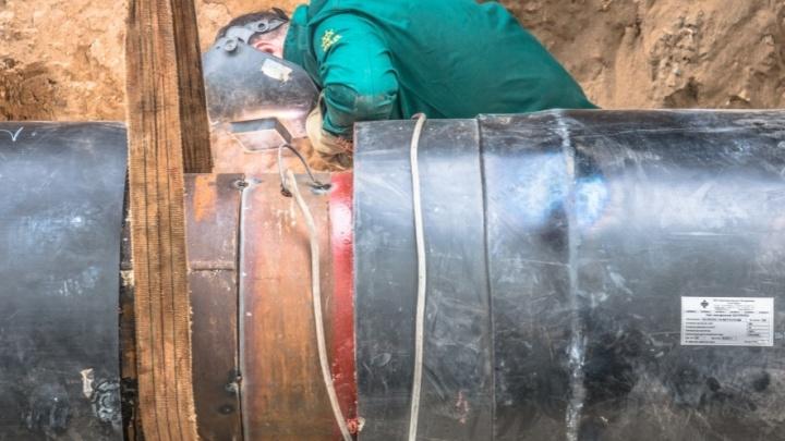 В Самаре более 6,5 тысячи человек остались без отопления из-за повреждения труб
