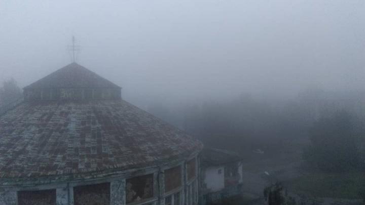 Наш маленький Сайлент Хилл: каким архангелогородцы увидели родной город в тумане