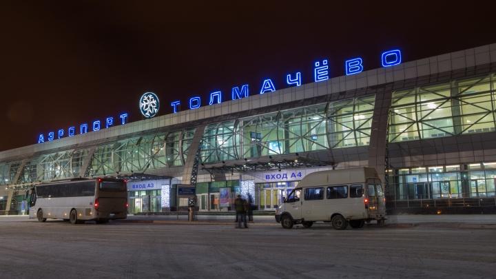 «Остальные вылетают нормально»: в Толмачёво на 19 часов задержали рейс в Сочи